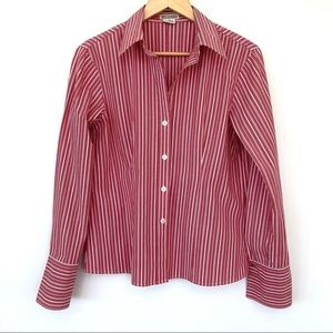 Michael Kors fitted button down shirt